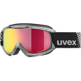 UVEX Slider FM Goggles Kinder anthracite/mirror red
